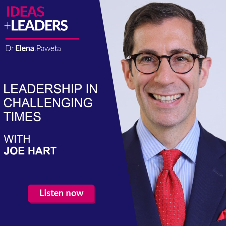 Leadership in challenging times – with Joe Hart