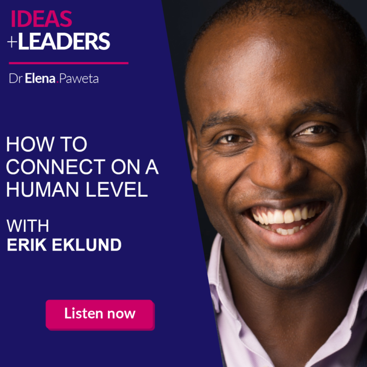 How to Connect with Your Business Audience on a Human Level – Erik Eklund