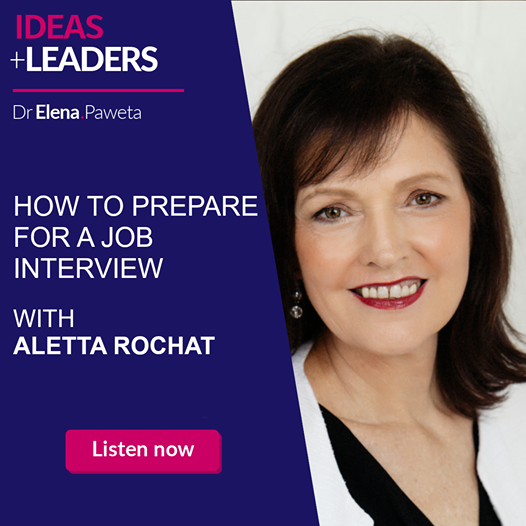 How to Prepare for a Job Interview – Aletta Rochat