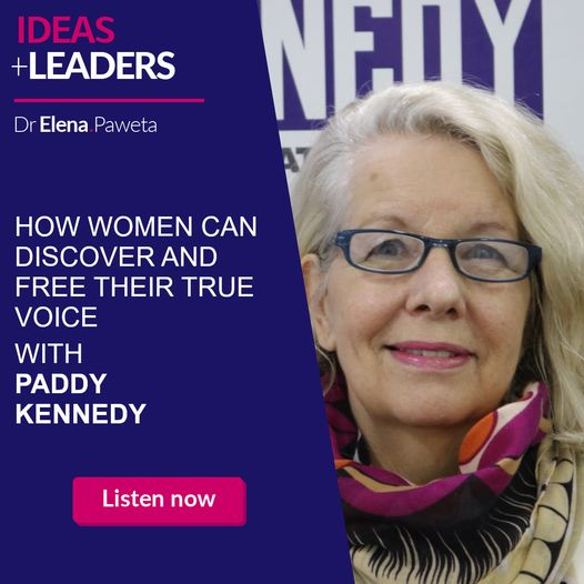 How Women Can Discover and Free Their True Voice – Paddy Kennedy