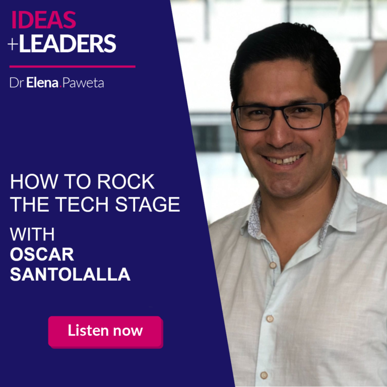 How to Rock the Tech Stage – Oscar Santolalla