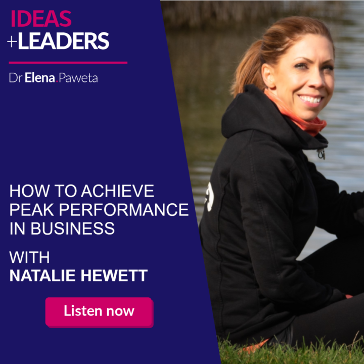 How to Achieve Peak Performance in Business – Natalie Hewett
