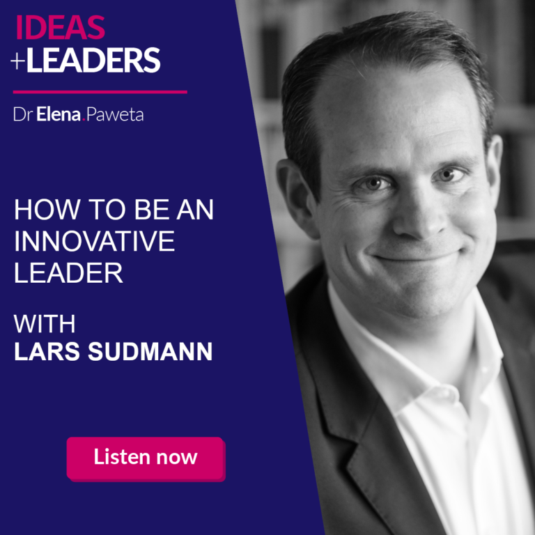 How to Be an Innovative Leader - Lars Sudmann
