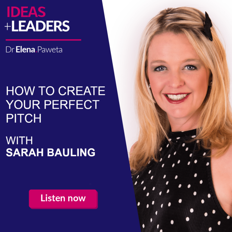 How to Create Your Perfect Pitch - Sarah Bauling