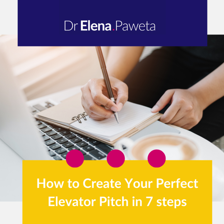 How to Create Your Perfect Elevator Pitch in 7 steps