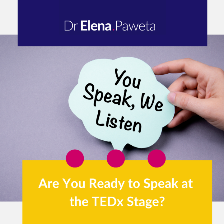 Are You Ready to Speak at the TEDx Stage?