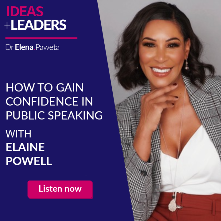 How to Gain Confidence in Public Speaking – Elaine Powell