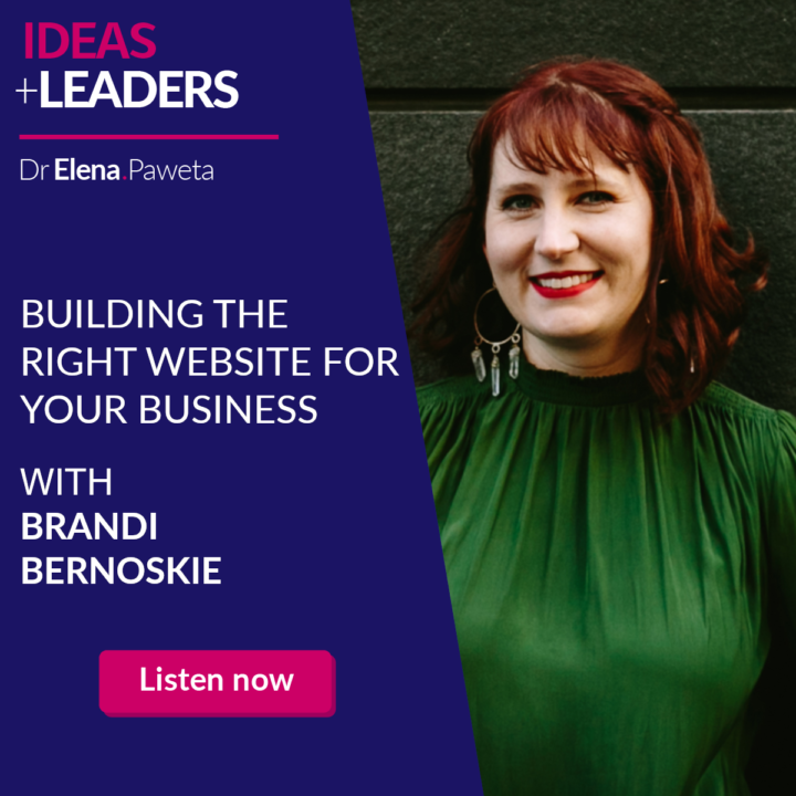 Building the Right Website for Your Business – Brandi Bernoskie